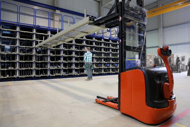 Langgutlager und Kassettenlager von Sauer Lagertechnik