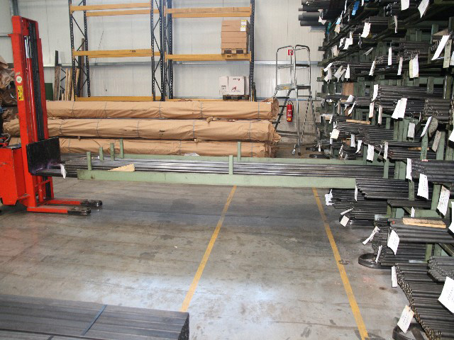 Schwerlastregale Von Sauer Lagertechnik